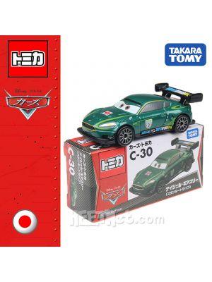 Tomica Disney Cars Diecast Model Car C-30 - Nigel Geatici Standard Type