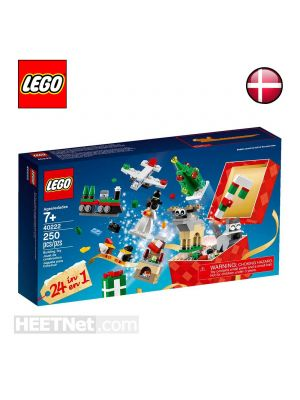 LEGO Exclusives 40222: Holiday Countdown Calendar