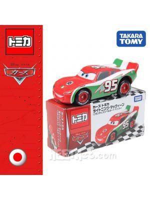 Tomica Disney Cars Diecast Model Car - Lightning McQueen Francesco BI. Type