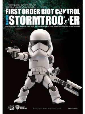 Beast Kingdom Marvel Egg Attack Action EAA-015R - First Order Riot Control Stormtrooper