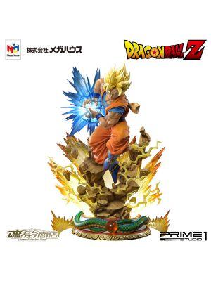 [日版] Prime 1 Studios x Megahouse 魂商店限定: 1/4 Mega Premium Master Line 孫悟空 超級撒亞人