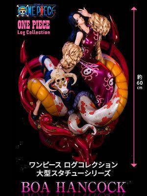 [日版] X-Plus Plex 魂商店限定 模型: 海賊王 One Piece Log Collection 女帝 寶亞·漢哥古