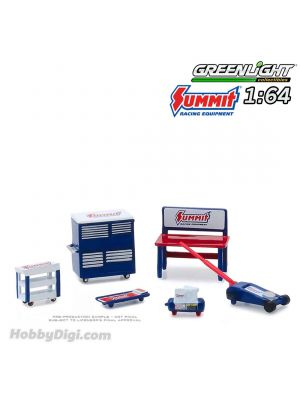 Greenlight 1:64 合金車配件 - Muscle Shop Tools Summit Racing Equipment (Hobby Exclusive)