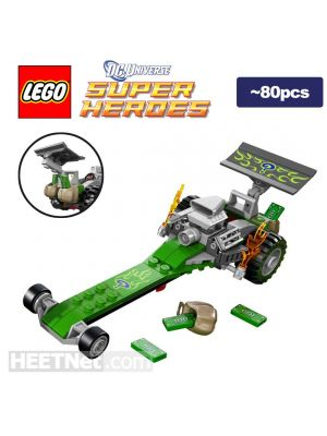 LEGO Loose Machine DC Comics: Riddler s Dragster