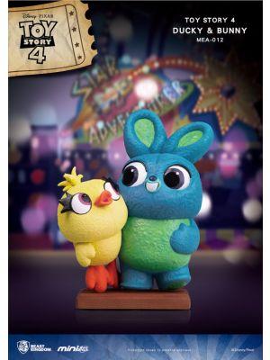 Beast Kingdom Disney Mini Egg Attack MEA-012 Toy Story 4 Ducky & Bunny(CB)