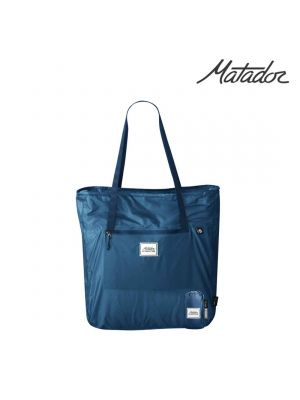 Matador Transit Tote 18L Packable Shoulder Bag Blue