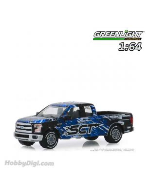 Greenlight 1:64 Diecast Model Car - 2017 Ford F-150 - SCT, Derive Systems (Hobby Exclusive)