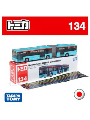 Tomica Diecast Model Car No134 - Mercedes-Benz Articulated Bus