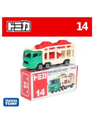 Tomica 合金車 No14 - Super Great Car Carrier