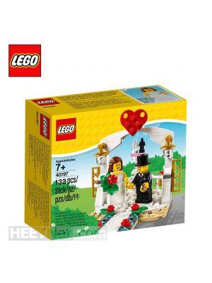 LEGO Seasonal 40197: Wedding favor set