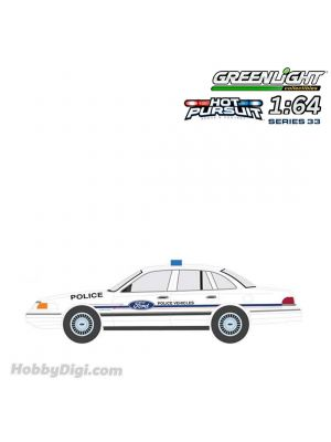 Greenlight 1:64 Diecast Model Car - Hot Pursuit Series 33 - 1993 Ford Crown Victoria Police Interceptor Ford Police Vehicles Show Car.
