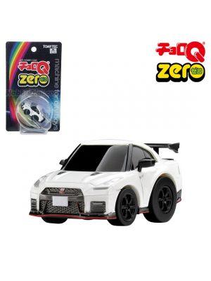 Tomica ChoroQ Zero Pull Back Diecast Toy Car - Z-56a Nissan GT-R Nismo White