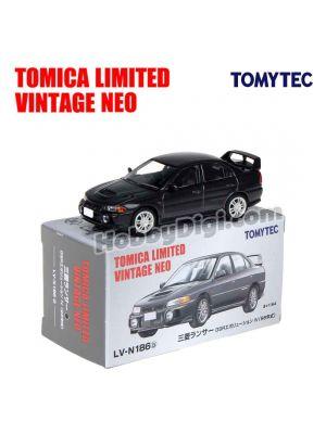 TOMYTEC Tomica Limited Vintage NEO 合金車 - LV-N186b Mitsubishi Lancer GSR Evolution IV (黑)