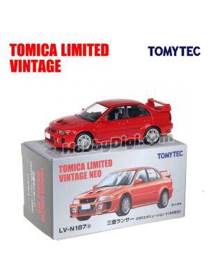 TOMYTEC Tomica Limited Vintage NEO 合金車 - LV-N187b Mitsubishi Lancer GSR Evolution V (紅)