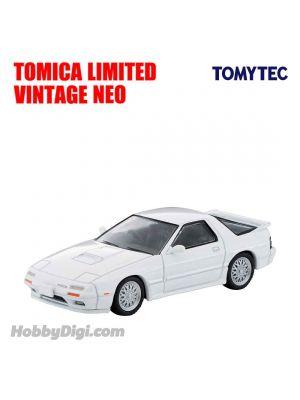TOMYTEC Tomica Limited Vintage NEO Diecast Model Car - LV-N192c Mazda Savanna RX-7 Anfini (White)