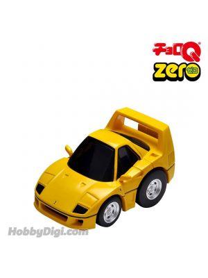 [日版] Tomica ChoroQ Zero 合金回力車 - Z-66c Ferrari F40 (黃)