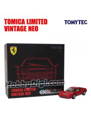 [JP Ver.] TOMYTEC Tomica Limited Vintage NEO Diecast Model Car - TLV-NEO Ferrari 512 BBi Red