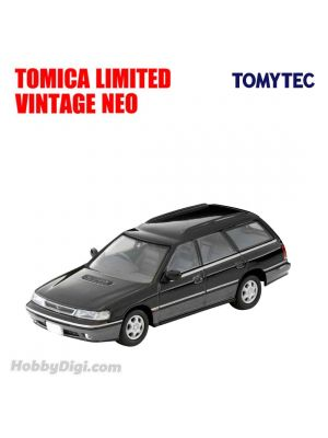 TOMYTEC Tomica Limited Vintage NEO Diecast Model Car - TLV-N201b LEGACY Touring Wagon GT Black/Grey