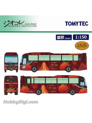 TOMYTEC Diorama Collection 1:150 Model Car - INA Bus 100th Birth Anniversary KOIHIME Bus