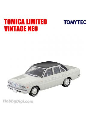TOMYTEC Tomica Limited Vintage NEO Diecast Model Car - LV-37b CEDRIC Personal Deluxe V White/Black