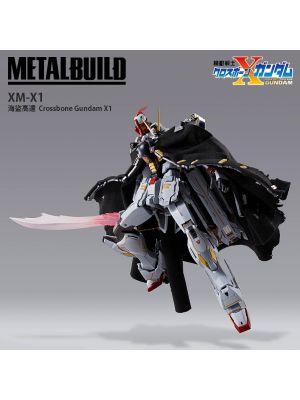 Bandai Metal Build 可動模型:XM-X1 海盜高達 Crossbone Gundam X1