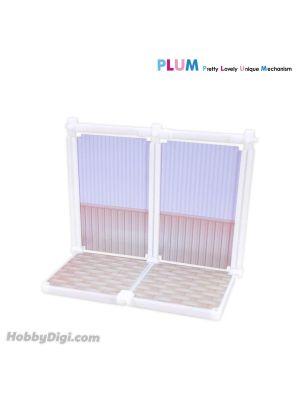 PLUM Modeling Supply Series Plastic 配件 07: Stack Studio (White) 無比例展示用配件 MS033