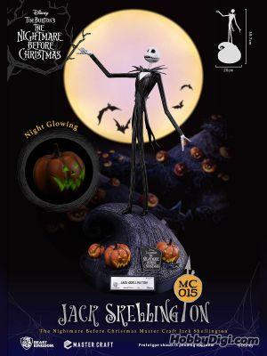 野獸國 Beast Kingdom 迪士尼 極匠系列 - MC-015 南瓜王傑克 Jack Skellington 《怪誕城之夜》