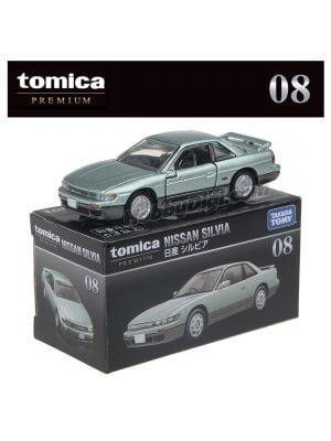 Tomica Premium Diecast Model Car No08 - Nissan Silvia