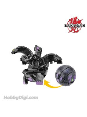 Takara Tomy Bakugan Baku004 - Ball 6D Double Headed Dragon Black