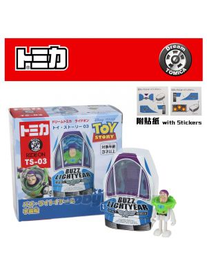 Dream Tomica 系列合金車 TS-03 - Toy Story 4 Buzz & Space ship