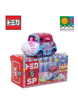 Dream Tomica SP X Open Future Tokyo Motor Show 2019 Limited Diecast Model Car - Hello Kitty Colorful Bot