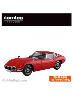 Tomica Premium Diecast Model Car - RS Toyota 2000GT Red