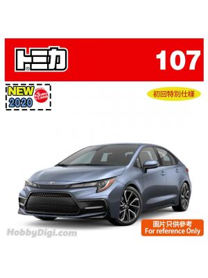 [2020 Sticker] Tomica Diecast Model Car No107 - Toyota corolla (1st Special Edition)