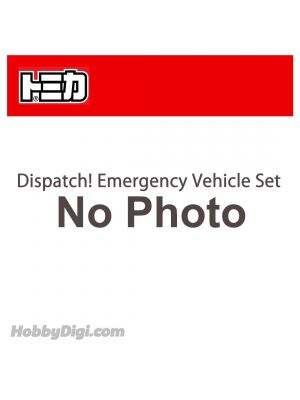 Tomica Diecast Model Gift Set - Dispatch! Emergency Vehicle Set