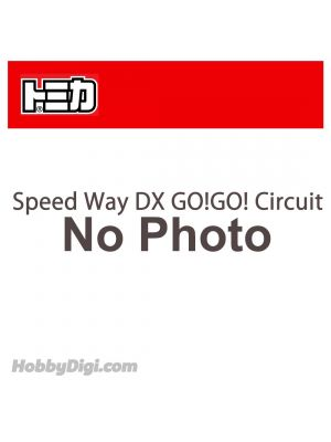 Tomica Diecast Model Car - Speed Way DX GO!GO! Circuit