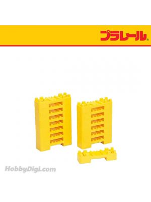 Plarail Accessory - J-15 Mini Block Bridge Support (16 pcs)