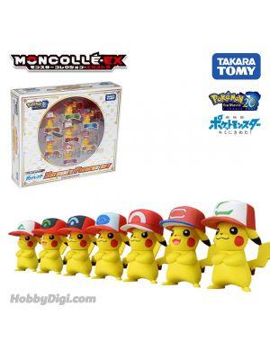 Takara Tomy 寵物小精靈 Moncolle-EX - 劇場版 寵物小精靈 就決定是你了!小智的比卡超套裝