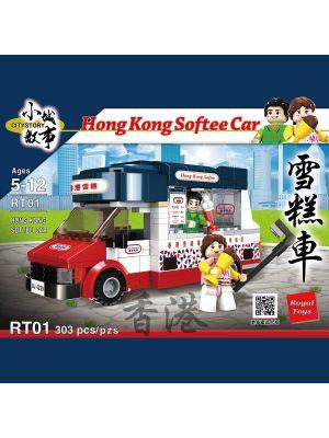 City Story Bricks RT01: Hong Kong Softee Car