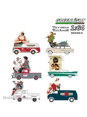 Greenlight 1:64 合金模型車 - Norman Rockwell Series 2 Assortment