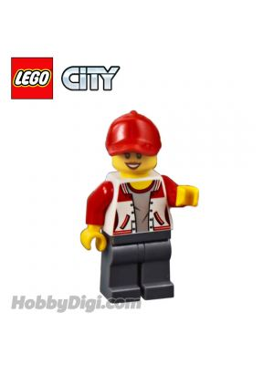 LEGO Loose Minifigure City: Kiosk Attendant