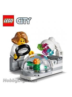 LEGO 散裝場景連人仔 City: 植物生長艙與植物學家