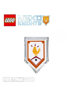 LEGO 散裝配件 Nexo Knights: Lance Scannable Shield 303 Powers of Chicken Power