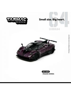 Tarmac Works GLOBAL64 模型車 -  Pagani Zonda