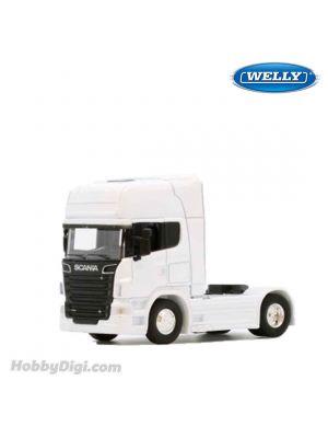 Welly 1:64 合金車 - Scania V8 R730 White