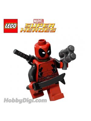LEGO 散裝人仔 Marvel: Deadpool with Gun and 2 Swords