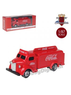 Motor City Classics Coca-Cola 1:87 Diecast Model Car - 1947 Bottle Truck (Red)