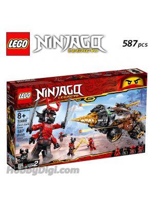LEGO Ninjago 70669: Cole's Earth Driller