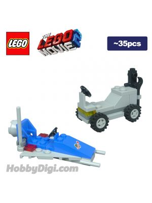 LEGO Loose Machine the LEGO Movie 2: Spaceship Toy and Lunar Buggy