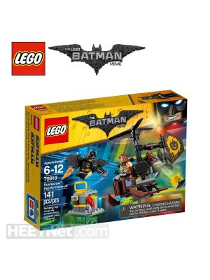 LEGO The Batman Movie 70913: Scarecrow Fearful Face-off
