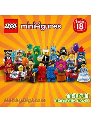 LEGO Minifigures 71021 Series 18: 一套17隻